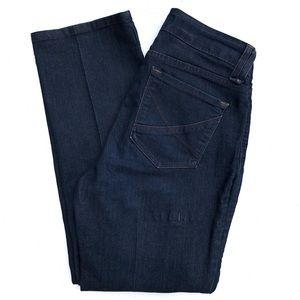 NYDJ lift tuck straight slim leg dark wash